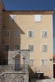 老房子,布德瓦,黑山 库存照片