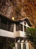 orietal样式的老房子 免版税库存照片