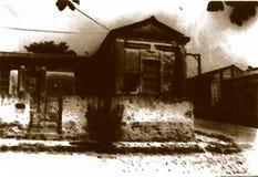 老房子 免版税图库摄影