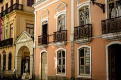 老房子façade 免版税库存照片