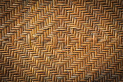 老手工造藤条织法 库存照片