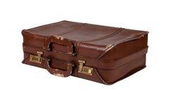 老手提箱葡萄酒 免版税库存照片