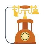 老手机减速火箭的传染媒介例证 皇族释放例证
