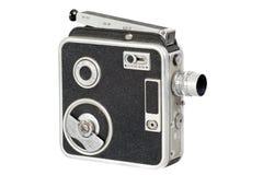 老手电影摄影机 库存照片