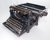 老打字机葡萄酒 免版税库存照片