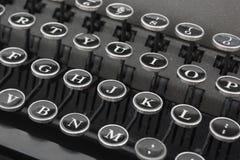 老打字机键盘  库存照片