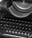 老打字机 库存照片