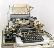 老打字机 免版税库存照片
