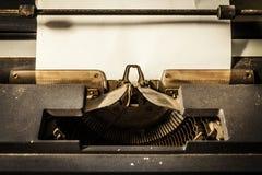 老打字机 免版税图库摄影