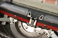 老打字机 免版税库存图片