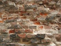 老打破的砖砌 免版税库存图片