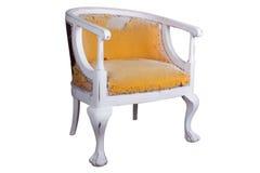 老扶手椅子 库存图片