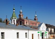 老拉多加Nikolsky修道院,据推测13世纪 俄国 库存图片