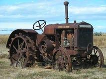 老拖拉机 免版税库存照片