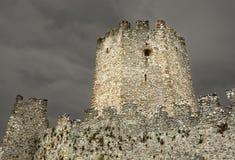 老拜占庭式的城堡时代 图库摄影