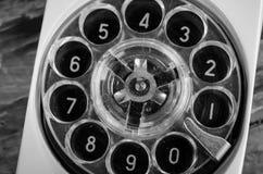老拨号电话 免版税库存照片