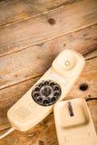 老拨号电话 免版税图库摄影
