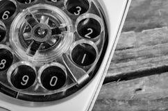 老拨号电话 库存图片