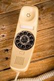 老拨号电话 图库摄影