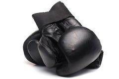 老拳击手套 图库摄影