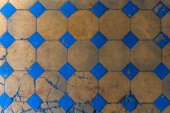 老拼花地板关闭 罗马建筑学 图库摄影