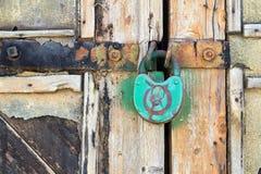 老挂锁 库存图片