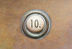 老按钮- 10 免版税库存图片