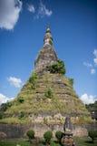 老挝万象NAM PHU STUPA DAM 免版税图库摄影