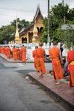 老挝人修道院的图片 免版税库存图片
