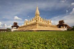 老挝人寺庙 库存照片