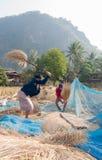 老挝人的生活 图库摄影