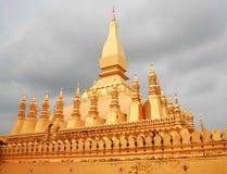 老挝塔 库存照片