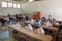 老挝学童 免版税库存照片