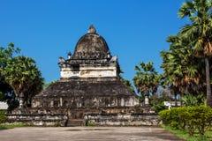 老挝寺庙-大桶Visounnarath在琅勃拉邦 库存图片
