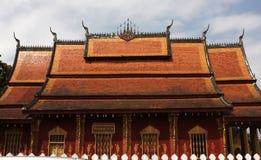 老挝寺庙 图库摄影