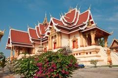 老挝寺庙 库存图片