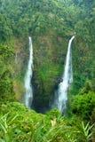 老挝瀑布 库存照片