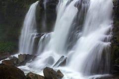 老挝瀑布 免版税库存照片