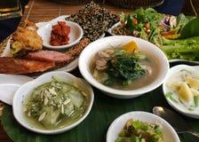 老挝烹调 库存照片