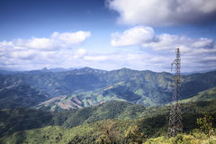 老挝的风景 免版税库存照片