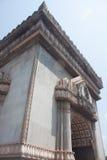老挝边的曲拱吸引力。 免版税库存照片