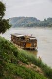 老挝,湄公河 免版税库存照片