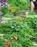 老挝lauang市场早晨prabang 免版税库存图片