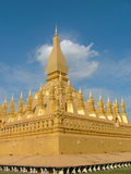 老挝luang pha 图库摄影