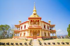 老挝luang prabang寺庙 库存图片