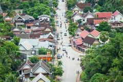 老挝luang prabang 免版税库存照片