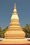 老挝stupa 库存照片