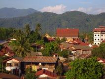 老挝vang vieng 免版税图库摄影