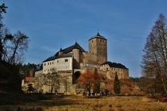 老捷克城堡Kost 库存照片