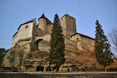 老捷克城堡Kost 库存图片